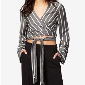 Rachel Roy Wrap Shirt